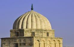 Große Moschee von Kairouan, Tunesien Lizenzfreie Stockfotos