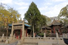 Große Moschee Xian-huajue Wegs, luftgetrockneter Ziegelstein rgb Lizenzfreie Stockbilder