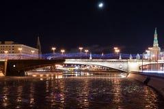 Große Moskvoretsky-Brücke Lizenzfreies Stockfoto