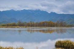Große neun Seen von Wald Hubeis Shennongjia Stockbilder
