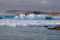 Große Ozeanwelle Lizenzfreie Stockfotos