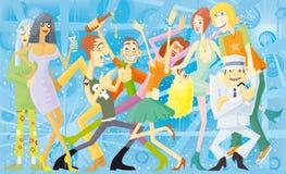 Große Party Lizenzfreie Stockfotos