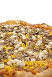 Große Pizza lizenzfreie stockfotografie