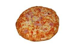 Große Pizza Stockfoto