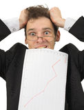 Große Probleme mit der Finanzierung Lizenzfreies Stockfoto