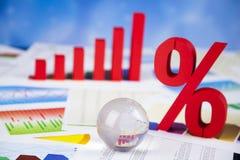 Große Prozente, Finanzierung Lizenzfreie Stockfotografie