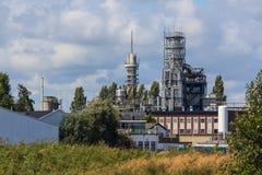 Große Pumpen und Rohrleitungen Lizenzfreie Stockfotografie