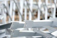 Große Pumpen und Rohrleitungen Stockbilder