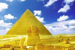 Große Pyramide Lizenzfreie Stockfotos