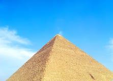 Große Pyramide Stockbilder
