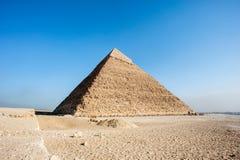 Große Pyramiden Egypt Lizenzfreies Stockbild
