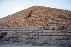 Große Pyramiden Egypt Stockfotografie