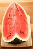 Große reife Wassermelone Stockfotos