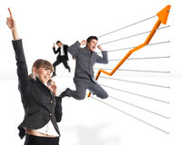 Große Resultate Lizenzfreie Stockfotos
