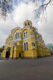 Große ` s St. Vladimir Kathedrale in Kiew stockfotografie