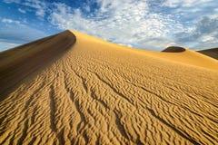 Große Sanddünen Lizenzfreies Stockfoto
