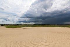 Große Sanddünen von Saskatchewan Stockfotos