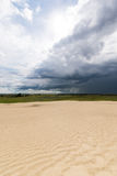 Große Sanddünen von Saskatchewan Stockbilder