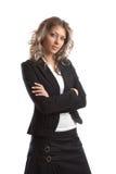Große schauende Geschäftsfrau Stockbilder