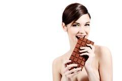 Große Schokolade Lizenzfreie Stockfotografie