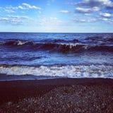 Große See-Wellen Lizenzfreies Stockbild