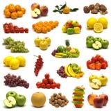 Große Seite der Früchte Lizenzfreies Stockfoto