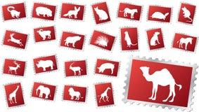 Große Setstempel - 11. Tiere Stockfotografie