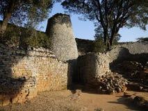 Große Simbabwe-Ruinen lizenzfreie stockfotos