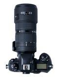 Große SLR-Kamera lizenzfreie stockfotos