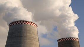 Große Smokestacks Stockfotografie