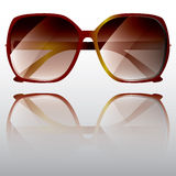 Große Sonnenbrillen Stockbild