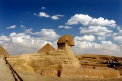 Große Sphinx von Giseh Stockbild