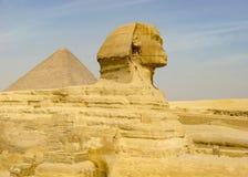 Große Sphinx von Giza lizenzfreies stockbild