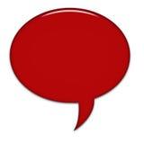 Große Sprache-Luftblase Lizenzfreies Stockbild