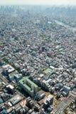 Große Stadt lizenzfreies stockbild