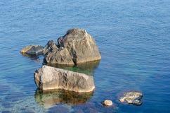 Große Steine Stockfotos
