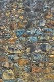 Große Steinwand lizenzfreies stockbild