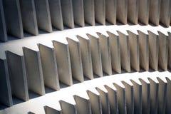 Große Steinzahnräder Stockbild
