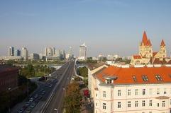 Große Straße Stockbilder