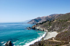 Große Sur Küste Lizenzfreies Stockbild