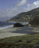 Große Sur Küste stockbilder