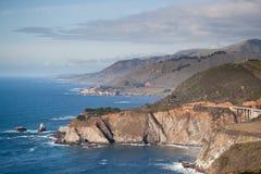Große Sur Küstenlinie Lizenzfreies Stockbild