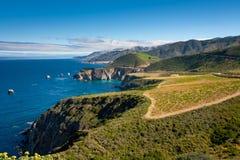 Große Sur Küstenlinie Stockbild