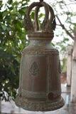 Große traditionelle Glocke am Affeberg Khao Takiab in Hua Hin, Thailand, Asien Lizenzfreie Stockfotografie
