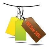 Große Verkäufe stock abbildung