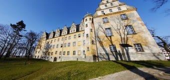 Große Villa in Olesnica, Polen stockfoto