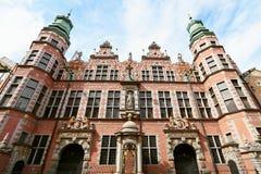 Große Waffenkammer in Gdansk Stockfoto
