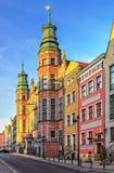 Große Waffenkammer in Gdansk lizenzfreies stockfoto