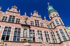 Große Waffenkammer in Gdansk, Pola lizenzfreie stockbilder