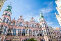 Große Waffenkammer in Gdansk, Polen lizenzfreie stockbilder